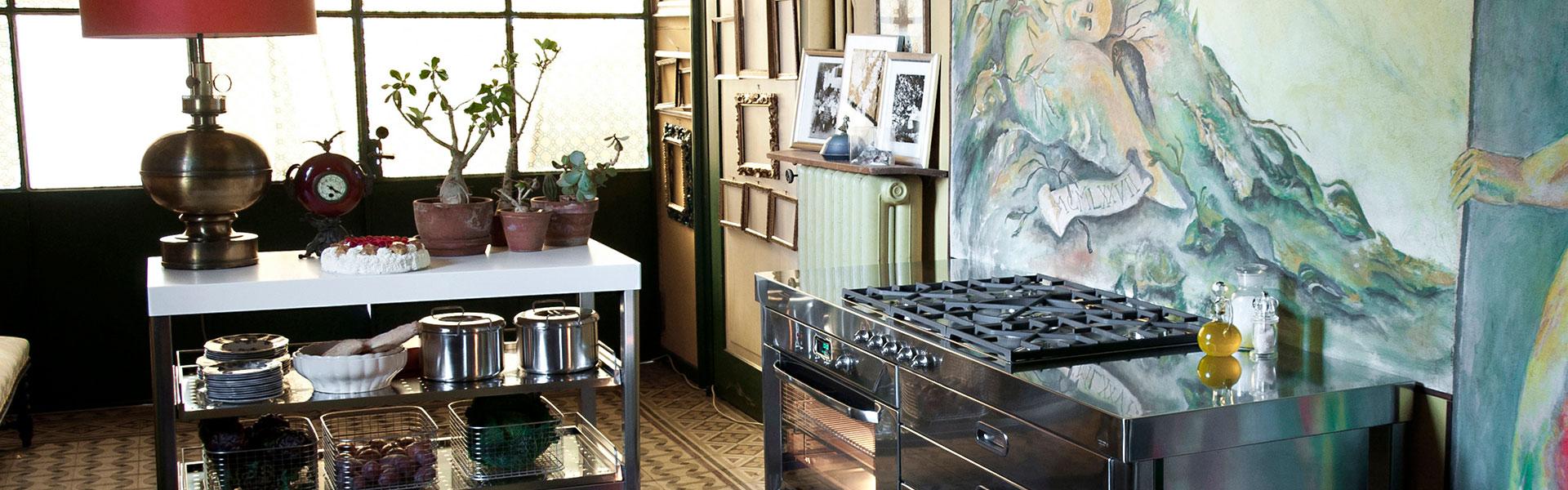 Freistehende Küchen-Möbel Kücheninseln Maßküchen