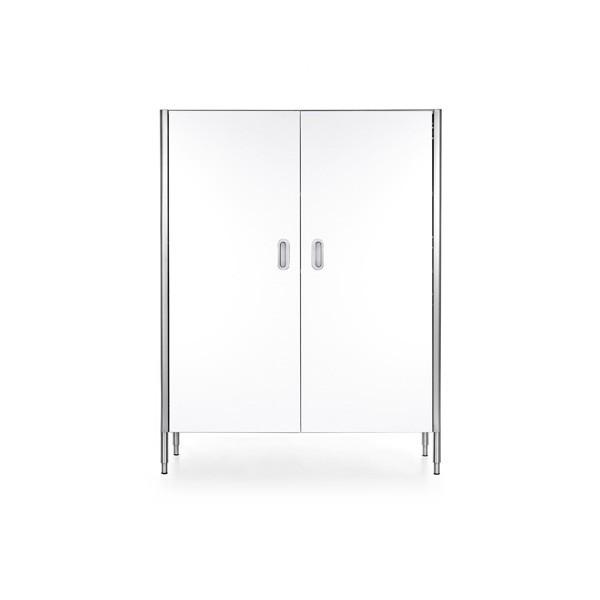 Edelstahl-Weinkühlschrank 128 cm