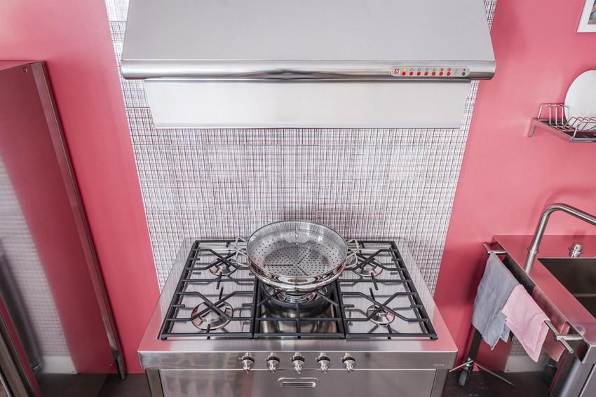 Edelstahl Küche 100 cm kombiniert