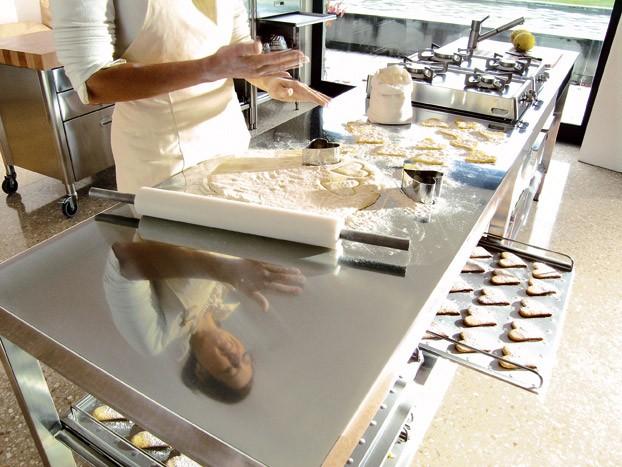 Edelstahl-Küchen-Elemente 160 cm