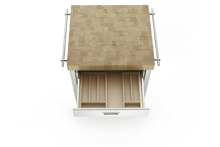 Edelstahl-Küchenelement 70 cm