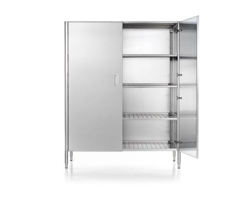 Lagerhochschränke mit 128 cm Breite mit zwei oder vier Türen