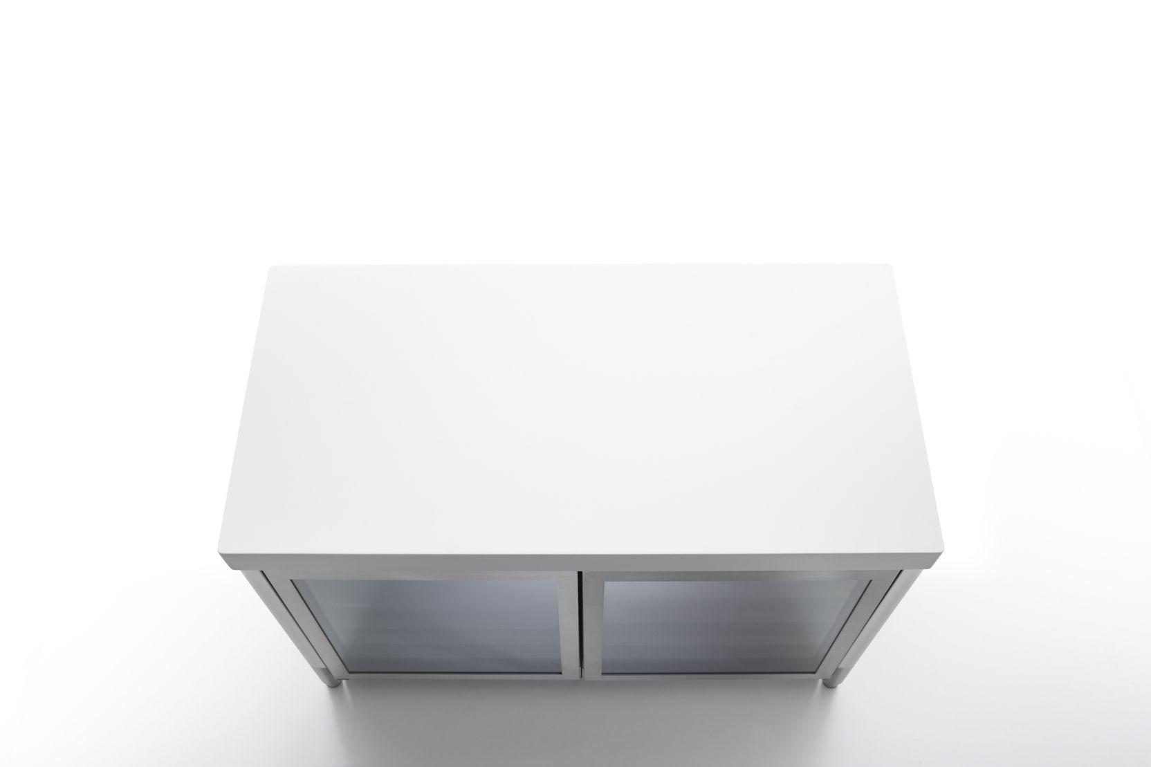 Edelstahl Weinkühlschrank 130 cm