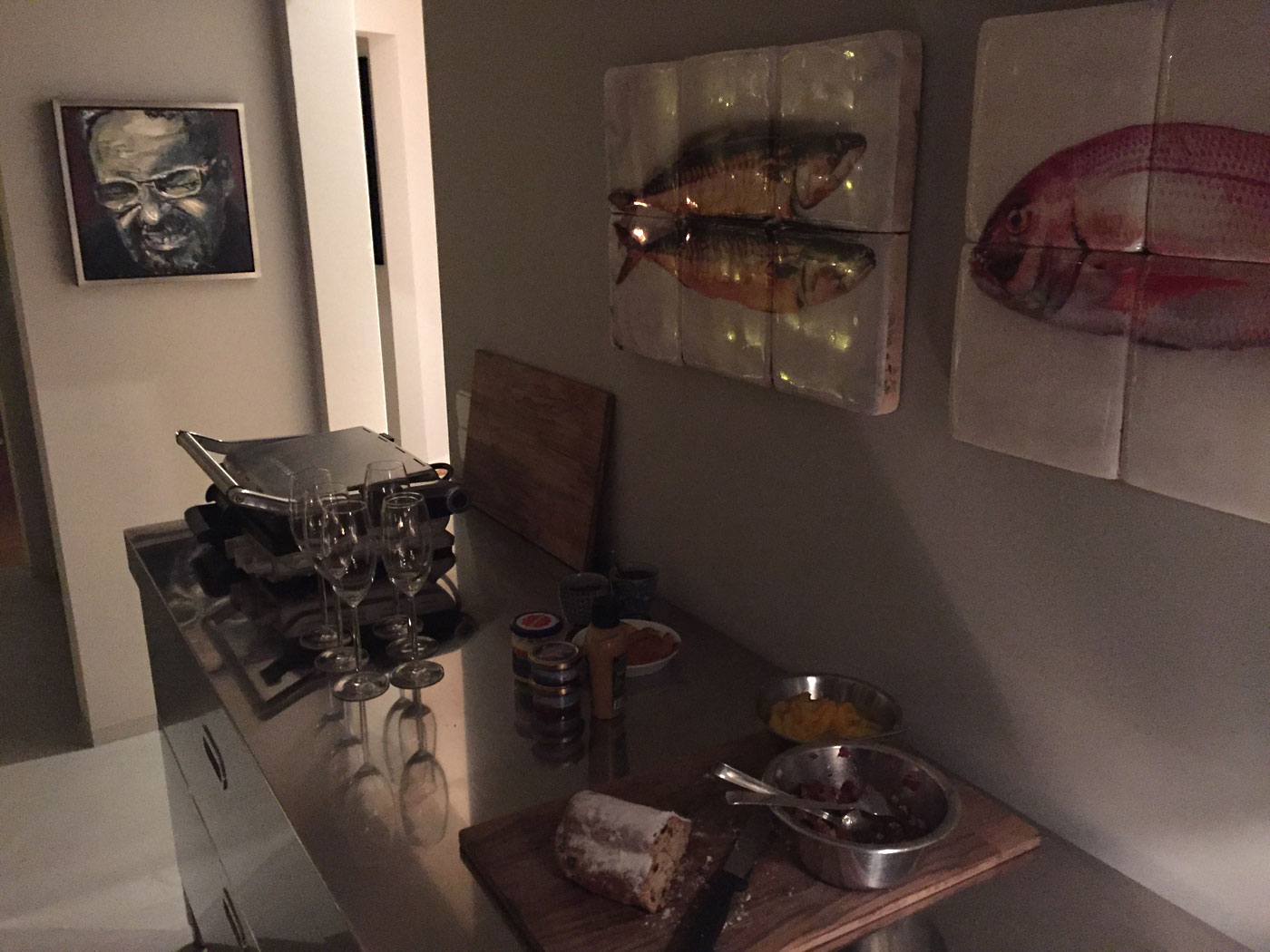 Edelstahl Küche Elemente komplett in Edelstahl