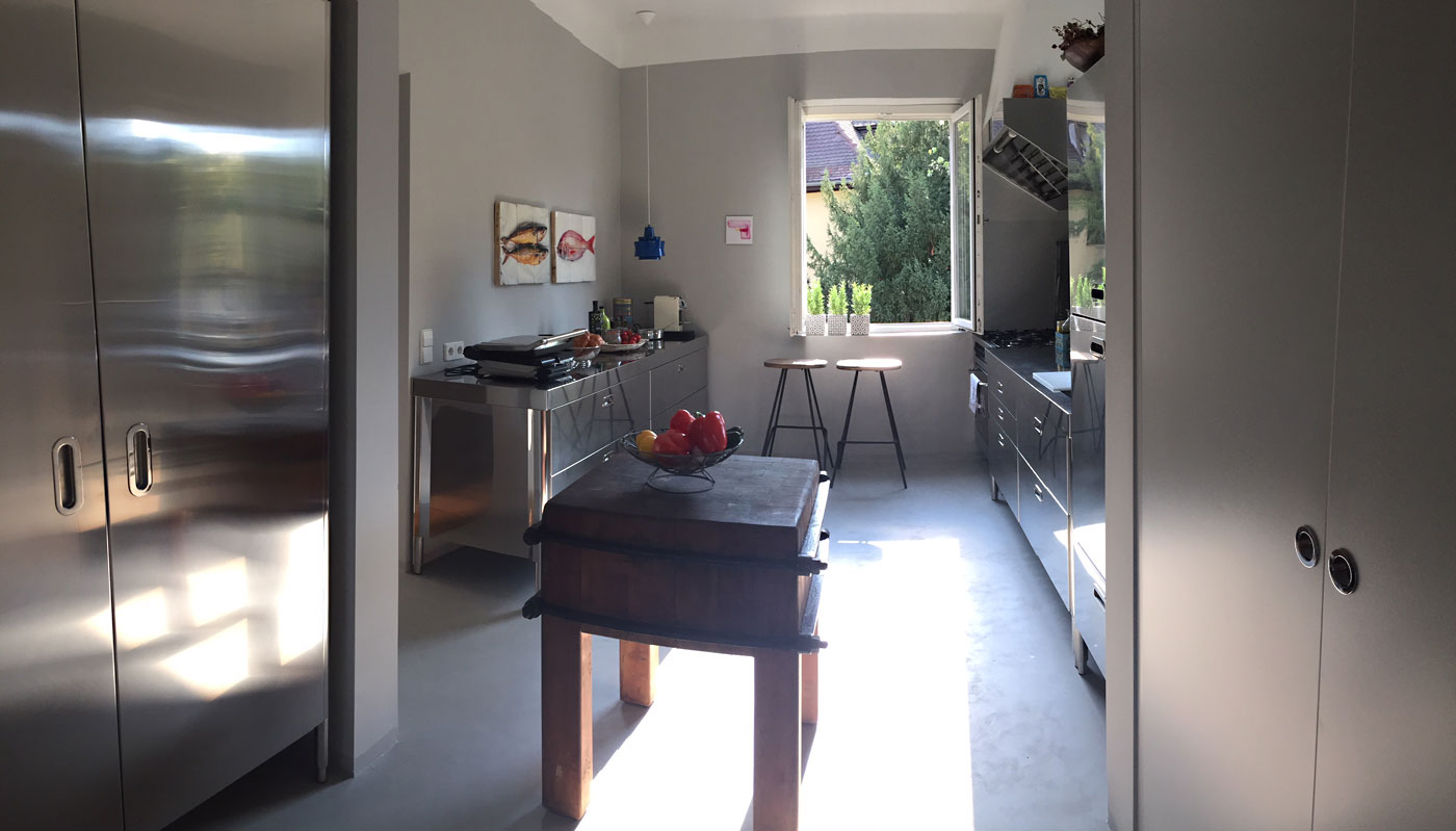 Edelstahl Küche Referenz Rath-Beck